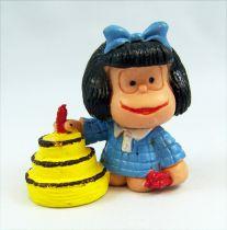 Mafalda gateau anniversaire (bleue) pvc Comics Spain
