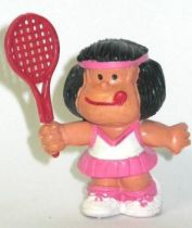 Mafalda tennis (pink & blue) Comics Spain pvc figure