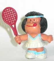 Mafalda tennis (white & blue) Comics Spain pvc figure