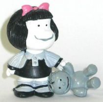 Mafalda with doll (black & white) Comics Spain pvc figure