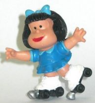 Mafalda with rollers (blue) Comics Spain pvc figure