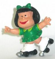 Mafalda with rollers (green) Comics Spain pvc figure