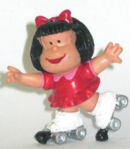 Mafalda with rollers (red) Comics Spain pvc figure