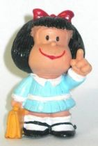 Mafalda with schoolbag (blue) Comics Spain pvc figure