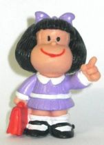 Mafalda with schoolbag (purple) Comics Spain pvc figure