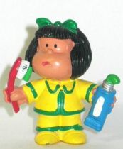 Mafalda with toothbrush and past (yellow) Comics Spain pvc figure