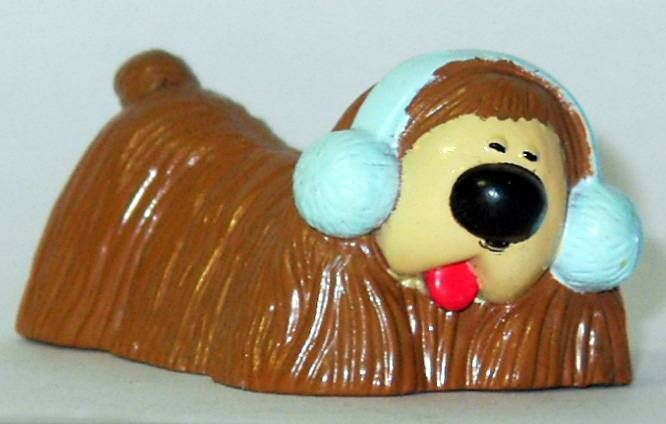 Magic Roundabout - ABToysPVC figure - Dougal winter