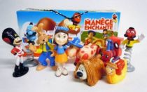 Magic Roundabout - Kinder Surprise (Ferrero) - Set of 9 Movie Figures