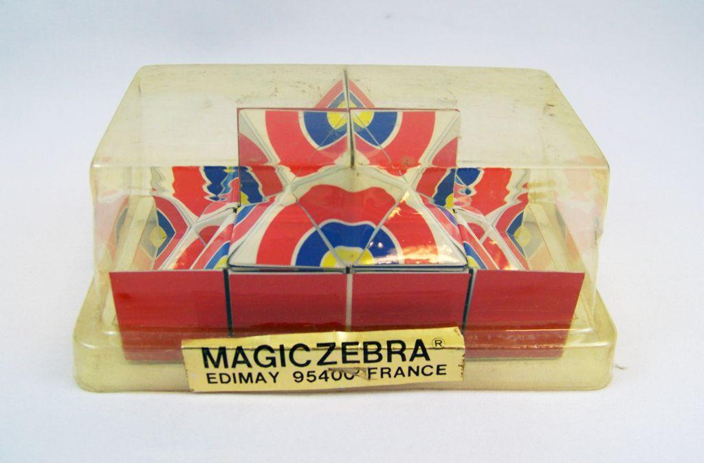 Magic Zebra - Edimay - Casse Tête Jeu de Logique Patience no Rubiskcube 01