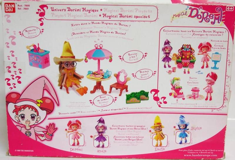 Magical Doremi - Bandai - Tea Party playset