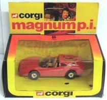 Magnum\'s Ferrari 308GTS Corgi Mint in box