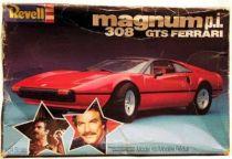 Magnum\'s Ferrari 308GTS Revell model kit
