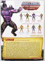 Maitres de l\'Univers MOTU Classics - Lodar
