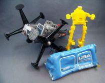 Major Matt Mason - Mattel - Space Shelter (ref.6321) + Supernaut Power-Limbs (ref.6343) + Space Crawler (ref.6304)