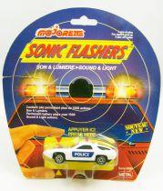 Majorette - Sonic Flashers - Voiture de Police (Porsche 928 GT)