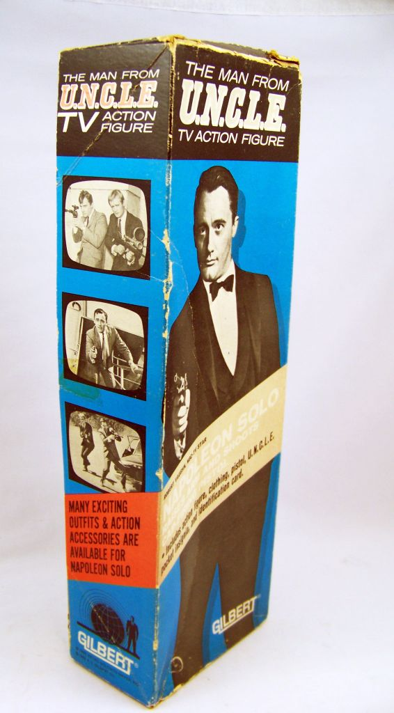 Man from U.N.C.L.E. - Gilbert - 12\\\'\\\' TV Action Figure