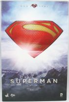 """Man of Steel - Superman (Henry Cavill) 12\"""" figure - Hot Toys Sideshow MMS 200"""