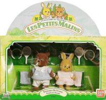 Mapletown - Sylvanian families - Tennis Twin set - Bobby & Patty
