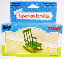 Mapletown - Sylvanian families - Village - Living Room Rocking Chair (mint in box) - Tomy/Epoch