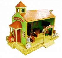 Mapletown - Sylvanian Families - Village - Maple Town School (Store Display) - Bandai/Epoch