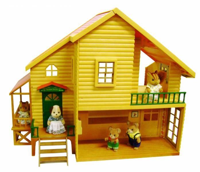 les petits malins village la maison des bois tomy epoch. Black Bedroom Furniture Sets. Home Design Ideas