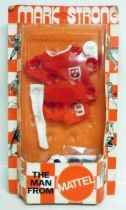 Mark Strong - Red soccer outfit (ref.8524)
