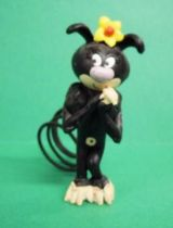 Marsupilami - Plastoy PVC Figure - Black Marsupilami female