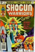 Marvel Comics - Shogun Warriors #4