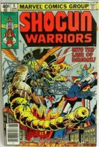 Marvel Comics - Shogun Warriors #5