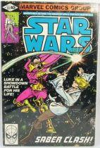 Marvel Comics Group - Star Wars n°33  Saber Clash!