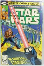 Marvel Comics Group - Star Wars n°37  In Mortal Combat!
