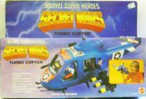 Marvel Guerres Secrètes - Turbo Copter / Turbocoptère (neuf en boite)