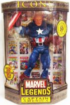 Marvel Icons - Captain America \'\'unmasked\'\'