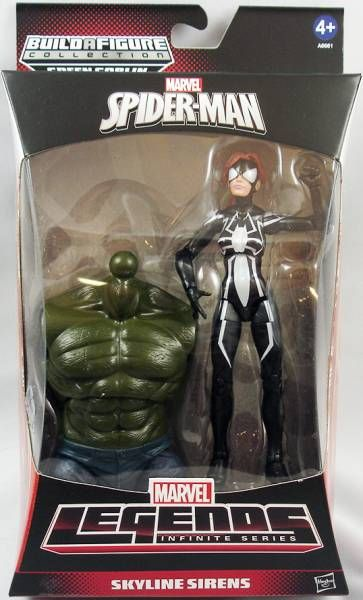 Marvel Legends - Arachne Spider-Woman - Series Hasbro (Green Goblin)