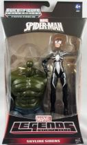 Marvel Legends - Arachne Spider-Woman - Series Hasbro (Green Goblin)