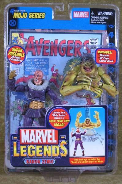 Marvel Legends - Baron Zemo (Variant) - Serie 14 Mojo Serie