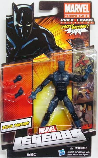 Marvel Legends - Black Panther - Series Hasbro (Rocket Raccoon)