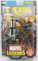 "Marvel Legends - Cable ""brown costume variant\"" - Serie 6"