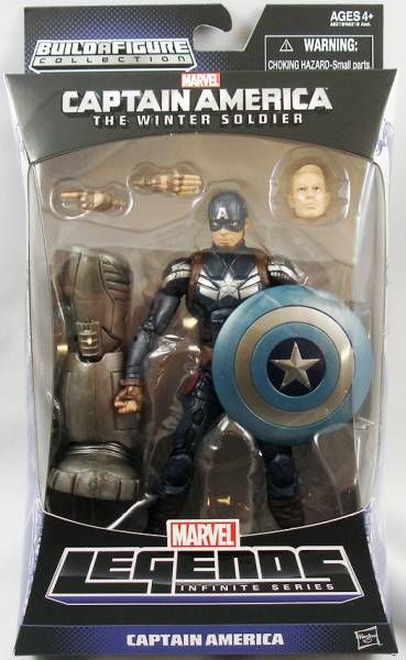 Marvel Legends - Captain America - Series Hasbro (Mandroid)