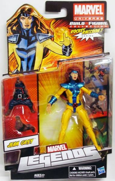 Marvel Legends - Jean Grey - Series Hasbro (Rocket Raccoon)