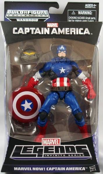 Marvel Legends - Marvel Now! Captain America - Series Hasbro (Mandroid)
