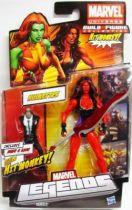 Marvel Legends - Red She-Hulk - Series Hasbro (Hit Monkey)