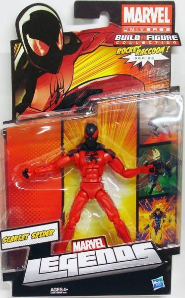 Marvel Legends - Scarlet Spider - Series Hasbro (Rocket Raccoon)