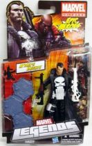 Marvel Legends - The Punisher (white logo) - Series Hasbro (Epic Heroes)