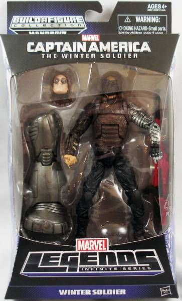 Marvel Legends - Winter Soldier - Series Hasbro (Mandroid)