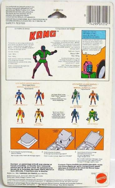 Marvel Secret Wars - Kang the Conqueror (Europe card)