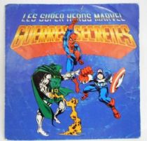 Marvel Secret Wars - Mini-LP Record - CBS Records 1986