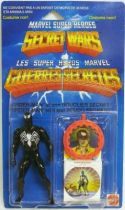 Marvel Secret Wars - Spider-Man \'\'black costume\'\' (Europe card)