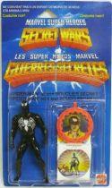 Marvel Secret Wars - Spider-Man \'\'black costume\'\' (Europe card)