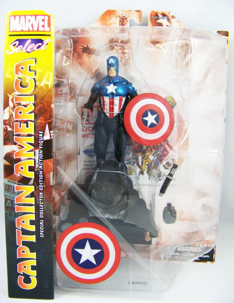 Marvel Select - Captain America (James Barnes)